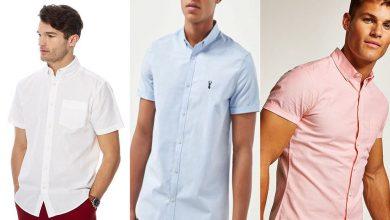 Men's Plain Short Sleeve Shirts for €30 or less