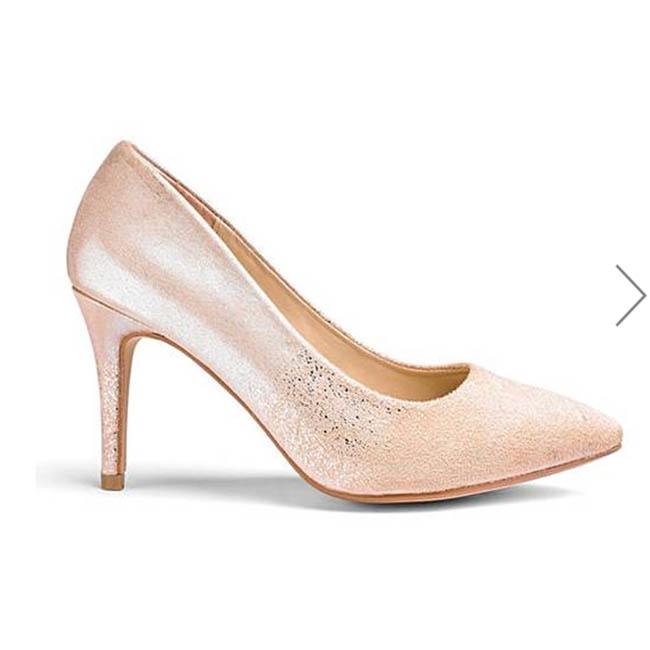 Heavenly Soles Ombre Detail Court Shoe (Oxendales)