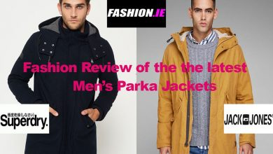 Fashion review of the latest men's parka jackets