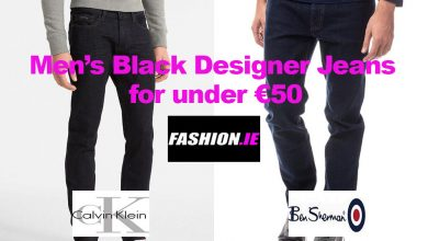 Men's Black Designer Jeans for under €50