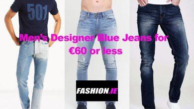 Men's Designer Blue Designer Jeans for €60 or less