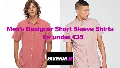 Men's Designer Short Sleeve Shirts for under €35.00