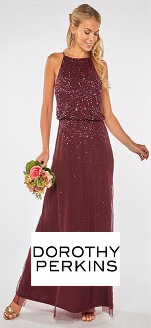 Showcase Mulberry Ava Maxi Dress from Dorothy Perkins