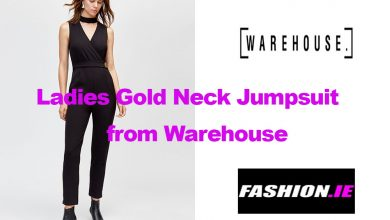 Fashion review High Neck Jumpsuit from Warehouse