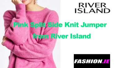 Fashion Review Pink Side Knit Jumper from River Island