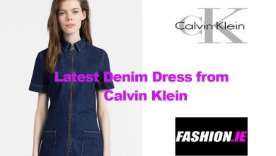 Fashion review Denim Zip-Up Dress from Calvin Klein