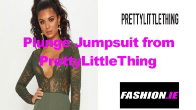 Fashion review Plunge Jumpsuit from PrettyLittleThing