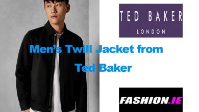 Fashion review Twill Jacket from Ted Baker