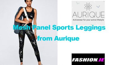 Fashion review Women's Mesh panel leggings from Aurique
