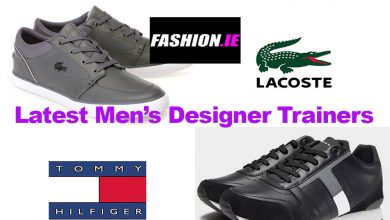 Fashion review latest men's designer trainers
