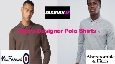 Fashion review designer men's polo shirts