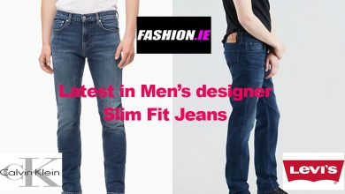 Fashion review of men's designer slim fit jeans
