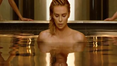 Charlize Theron strips for new Dior fragrance ad