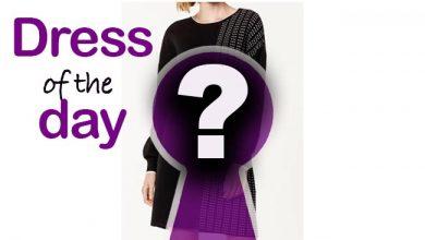 Latest fashion Pleated Jumper Dress from Karen Millen