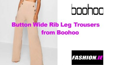 Fashion look Wide Leg Trousers from Boohoo