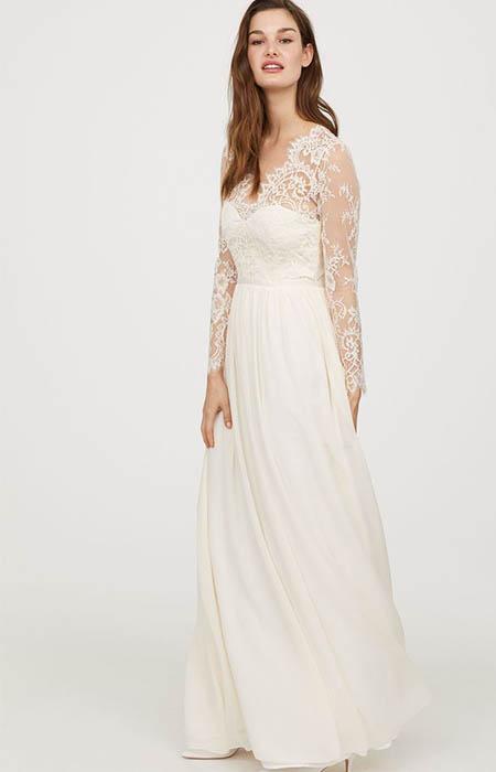 H&M Wedding Dress Replica version of Kate Middleton's Wedding Dress