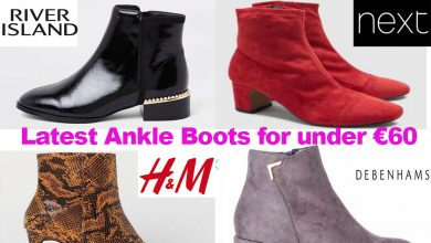 Latest Ladies Ankle Boots for under €60