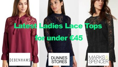 Latest Ladies Lace Tops for under €45