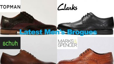 Latest Men's Brogue Shoes from under €100