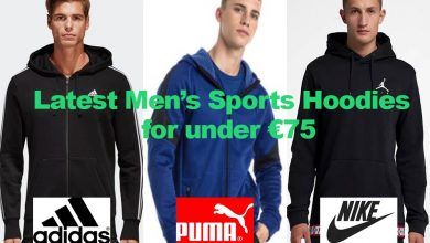 Latest Men's Sports Hoodies for under €75
