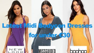 Latest Bodycon Midi Dresses from under €30