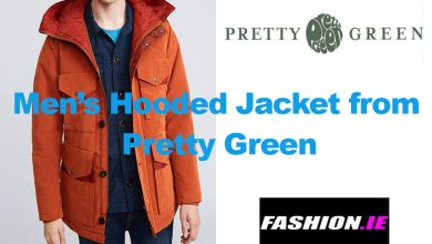 Latest fashion: Hooded Jacket from Pretty Green