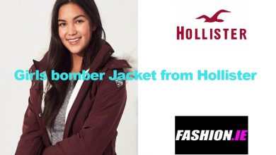 Latest fashion Lined Bomber Jacket from Hollister