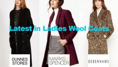 Latest in Ladies Woollen Coats for under €180