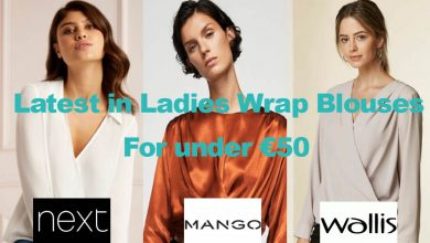 Latest in Ladies Wrap Blouses for under €50