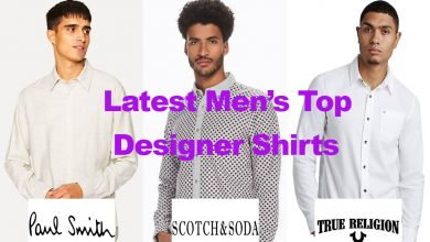 Latest in Men's Designer Smart Casual Shirts