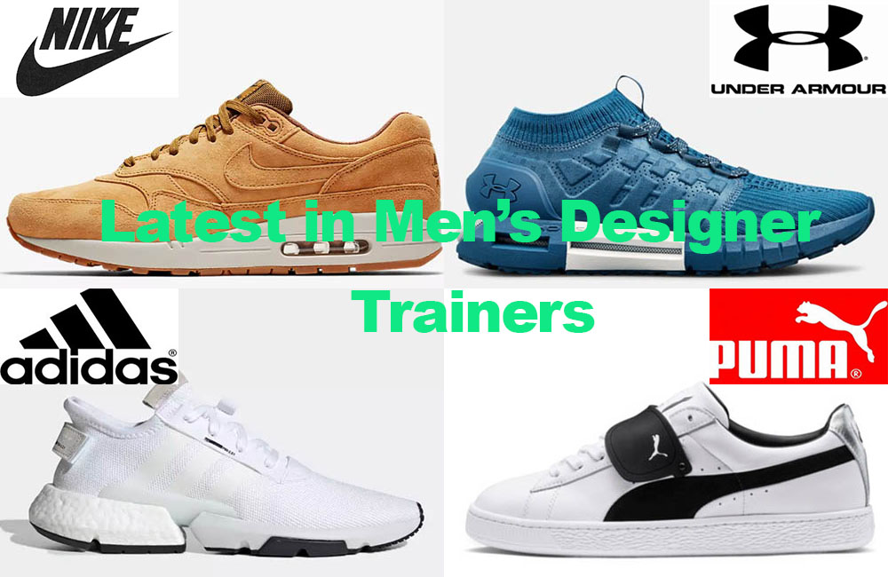 Latest in Men's Designer Sports Shoes