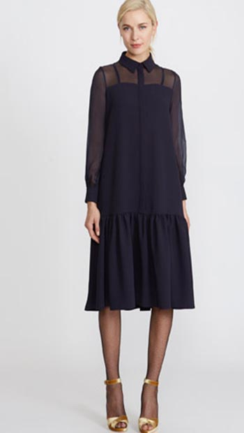 Peter O'Brien Silk Shirt Dress from Dunnes Stores