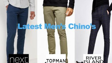 The Latest Men's Chino's for under €40