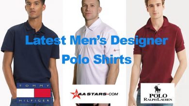 The Latest Men's Designer Polo Shirts