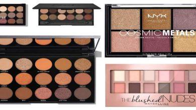 The best eyeshadow palettes under €20