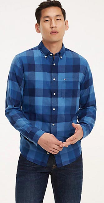 Tommy Hilfiger Checked Cotton Shirt