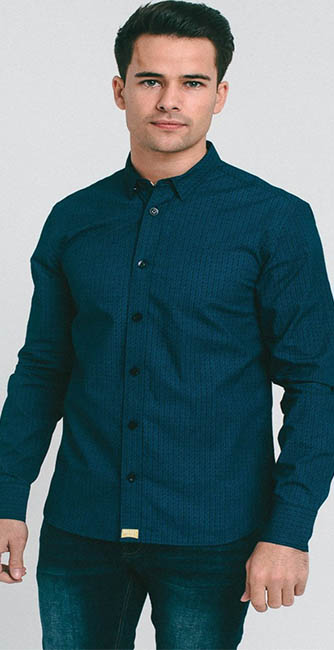 Clemenza Navy Shirt from Diesel