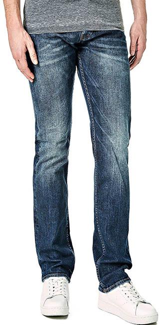 Guess Men's 5 Pocket Regular Jeans