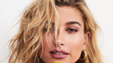 Hailey Baldwin talks about her makeup look
