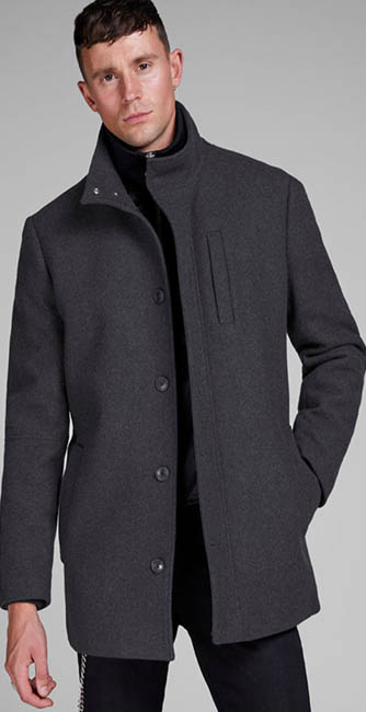 Jack & Jones Wool Blend Jacket