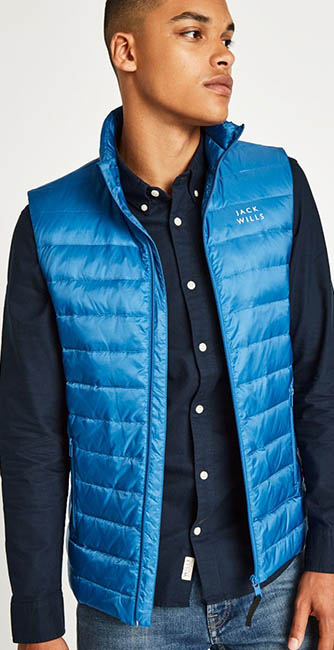 Jack Wills Knole Ultra-Lightweight Gilet