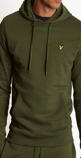 Men's Pullover Hoodie from Lyle & Scott