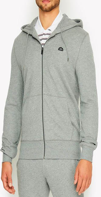 Men's Vittoria Grey Hoody from Ellesse