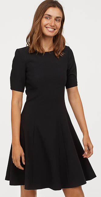 Puff-Sleeved Dress from H&M