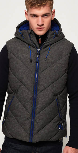 Superdry Men's Xenon Puffer Gilet