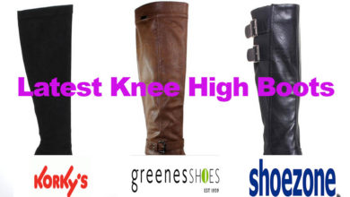 The Latest Ladies Knee High Boots for under €70