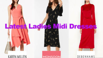 The Latest Ladies Midi Dresses from under €100