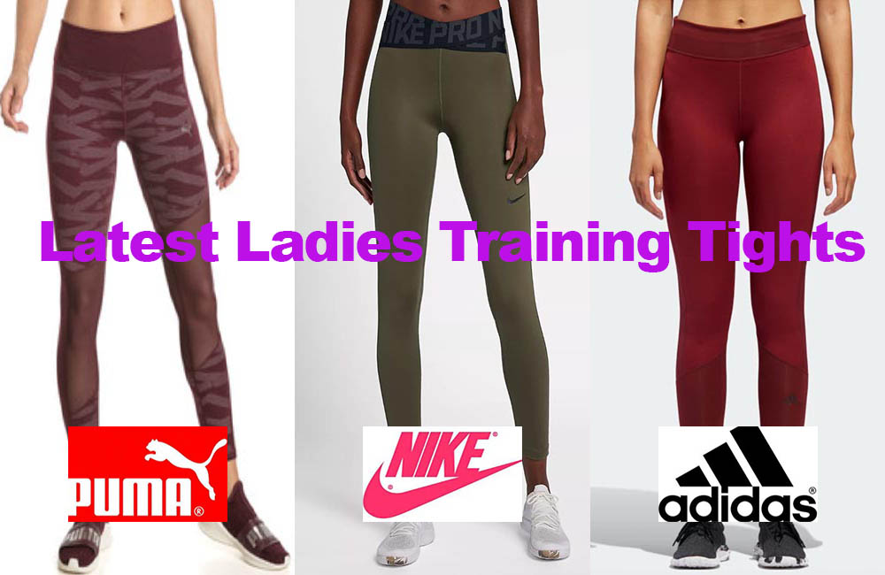 The Latest Ladies Training Tights for under €45