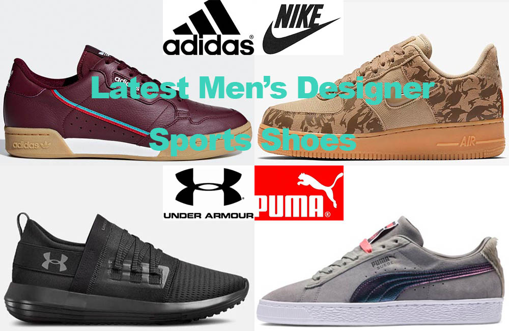 The Latest in Designer Men's Sports Shoes