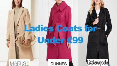 The Latest in Ladies Overcoats from under €99